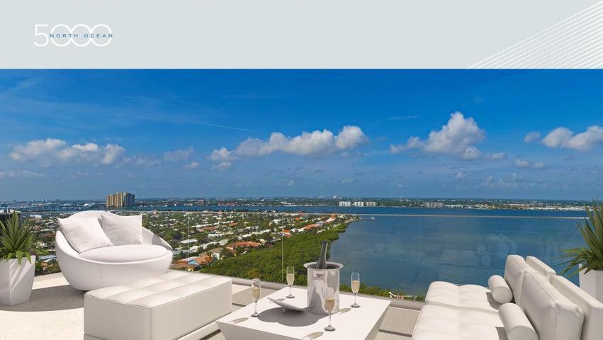 5000 N Ocean Drive, Penthouse South, Singer Island, FL 33404
