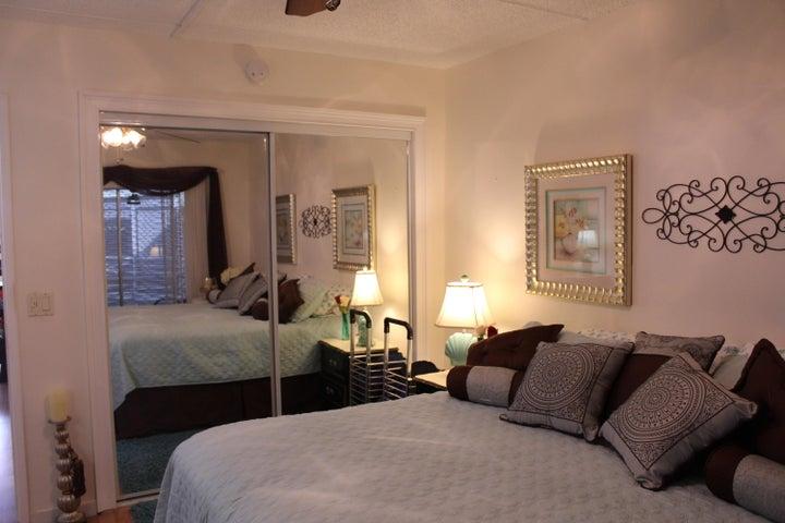 Bedroom has balcony access