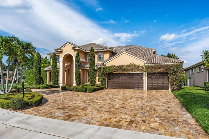 OPEN HOUSE THIS WEDNESDAY 6/26/19 11am-1pm! Located in the gated enclave of Crystal Pointe within Boca Falls lies one of the BEST homes in Florida. The home encompasses almost 4,000 sq ft with 4 Bedrooms + Den, 3 Full Bathrooms, a luxurious outside living environment with a decorated pool/spa, basketball court, outdoor living furniture, a marble driveway, marble outdoor hardscaping, impeccable landscaping, designer decor, Wolf kitchen appliances, Sub-Zero refrigerator & freezer, a pool table, & much more! Being in Boca Raton is a luxury and this residence makes for an entertainer's dream. Just short minutes to dozens of Boca restaurants, shops, entertainment centers, etc.A positive lifestyle awaits. Don't miss out on this opportunity, the sellers are motivated, bring your offer!