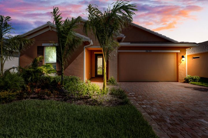 Best selling floor plan (Estero model) never lived in! This home has so many upgrades... Plus tile roof, impact windows, gourmet kitchen. Move right in and start making friends in the award winning Vitalia clubhouse.