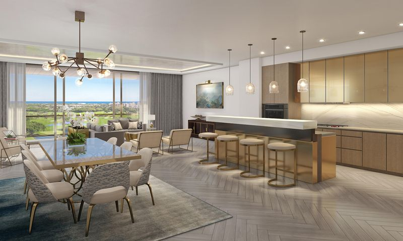 Welcome to the future of Boca Raton luxury. The Residences at Mandarin Oriental is the first branded residential project in South Palm Beach County and only the seventh Mandarin Oriental Residences in the world. This limited collection of only 92 homes is distinctive with unmatched finishes and five-star services unavailable anywhere else. Appliances by Wolf/SubZero include gas cooktop, dual ovens, dual zone wine refrigeration, and outdoor gas grill, fixtures by Waterworks, Semi-precious stone waterfall bar in kitchen, Italian cabinetry, 12' ceilings, designer lighting, and expansive golf, intracoastal, and ocean views. Visit our Sales Galley at 10 East Boca Raton Road to discover The Residences for yourself.