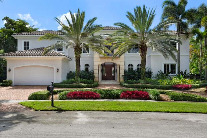 """Glorious park views and extraordinary natural light are the hallmarks of this 5 Bedroom 5 Bath 8,563 total sq. ft. estate on a rare .44 Acre in highly sought after Boca Bath & Tennis. Open concept kitchen/family/breakfast room with french doors leading to loggia and banks of windows overlooking the lushly landscaped grounds, pool area and park; privately situated  Master Suite with sitting area, french door access to private terrace, large walk-in closet, sumptuous master bath with dual vanities; handsome study, and large Club Room. Exceptional outdoor living space overlooking park. Expansive terrace area surrounding pool & spa. BB&T is a 24 hour guard gated community with 8 tennis courts, pool, clubhouse, playground; centrally located to I 95, prestigious public and private schools DISCLAIMER: The written and verbal information provided including but not limited to prices, measurements, square footages, lot sizes, calculations and statistics have been obtained and conveyed from third parties such as the applicable Multiple Listing Service, public records as well as other sources. All information including that produced by the Sellers or Listing Company are subject to errors, omissions or changes without notice and should be independently verified by any prospect for the purchase of a Property.  The Sellers and Listing Company expressly disclaim any warranty or representation regarding all information.  Prospective purchasers' use of this or any written and verbal information is acknowledgement of this disclaimer and that Prospects shall perform their own due diligence.  Prospective purchasers shall not rely on any written or verbal information provided when entering a contract for sale and purchase.  Some affiliations may not be applicable to certain geographic areas. If your property is currently listed, please do not consider this a solicitation. In the event a Buyer defaults, no commission will be paid to either Broker on the Deposits retained by the Seller.  """"N"""