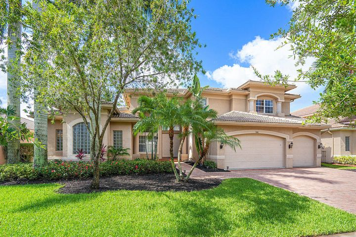 Designer Lakefront Pool Home in the desirable Community of Saturnia Isles located in Delray Beach. Upgraded Kitchen with Stainless Appliances and Chef's Island. Light and Bright Open Floor Plan. 5 Bedrooms, 4.5 Bathrooms with a Office. Complete Hurricane Shutters, Fresh Paint, Pavers Sealed, Washer, Dryer and ACs replaced in 2018.