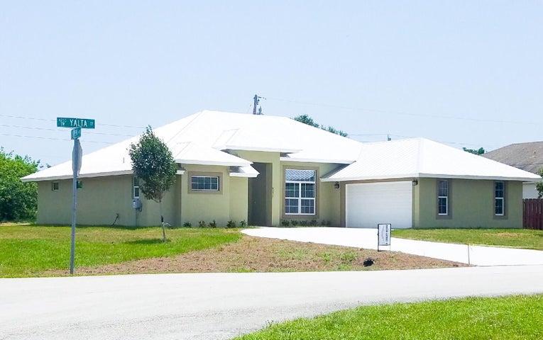 4201 SW Yalta Street, Port Saint Lucie, FL 34953