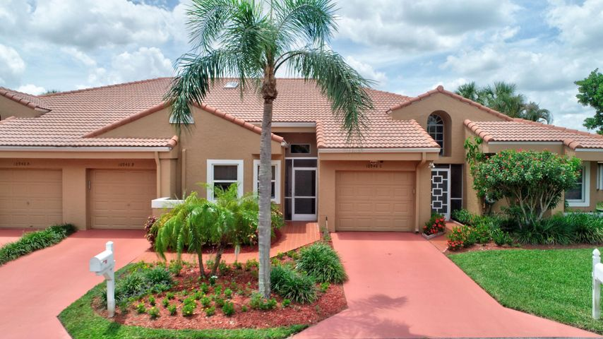 *OWNER NEEDS A DECEMBER 15th CLOSING.*   GORGEOUS LAKEFRONT RENOVATION!  IMPACT WINDOWS THROUGHOUT! FLORIDA ROOM WITH A/C! This beautifully renovated villa in a gated 55+ community has everything you want and more! Stunning kitchen and bathrooms!   Gorgeous travertine floors. New A/C-2018! New water heater-2017!  Roof-2009. Skylights and high baseboards. Walk-in closets, vaulted ceilings, laundry room, breakfast room! Master bath with dual sinks and walk-in shower. Garage and driveway. Relax in your Florida Room & enjoy the serene lake view!  HOA fee includes cable, lawn care, and  clubhouse with pool, tennis, exercise room, and more! Lovely West Boca area, convenient to shopping, dining, and recreation.