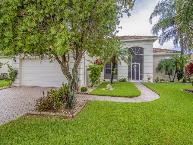 Stunning one owner Lake Forest Home.  This property truly shows pride in home ownership. Nestled in the estuary in Lake Forest, this home has wonderful curb appeal, with over sized screened Lanai overlooking a rock garden area. Numerous upgrades including newer HVAC, and custom drapery,  and accordion shutters are an added bonus to this stunning home. 3rd Bedroom has a double door feature.  Do not miss this opportunity to own a home in this HOA which has the lowest HOA fees in the area.  Features include, two pools, a workout facility, clubhouse and included yard care as well as cable TV.  This is a move in ready Home waiting for a new family! Put Lake Forest at the top of your list!
