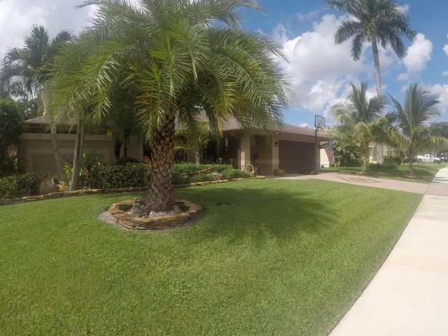 Spectacular landscaping