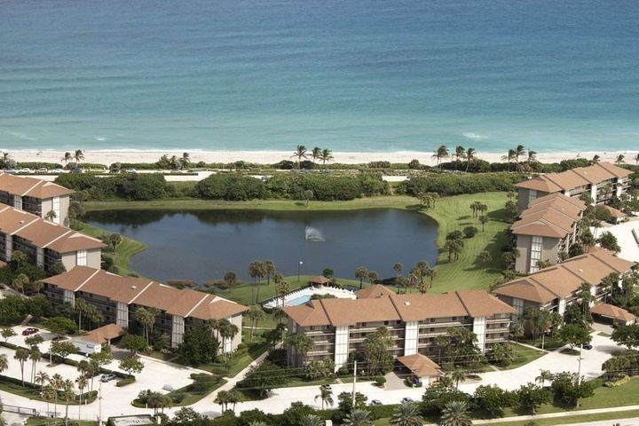 AERIAL VIEW OF GATED COMMUNITY