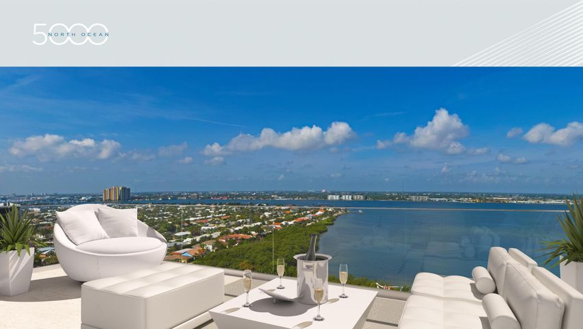 "Prestigious island address. Stunning ocean & Intracoastal views. Incomparable lifestyle. With the scarcity of Florida coastline, we proudly introduce a new oceanfront residence tower featuring over 340 ft. of direct beachfront on 4 1/2 acres of natural habitat and sandy dunes. Discover 5000 North Ocean's unprecedented coastal lifestyle rising 19-stories above the ocean in Singer Island's coveted north residential corridor just minutes from everything PGA Boulevard has to offer. At 5000 North Ocean you'll awaken to awe-inspiring sun rises over the horizon and the soothing sounds of waves rolling onto pristine sands. Expansive walls of glass, innovative architectural designs and crisp modern interiors combine to create an unprecedented coastal lifestyle with a host of private residential services. And as the day draws to a close, you'll marvel at the spectacle of a Palm Beaches sunset. This extraordinary already under construction opportunity is scheduled for occupancy, Fall 2019.  This highly sought after Seabreeze residence provides stunning intracoastal and ocean views. Step off the access-controlled elevator into your private vestibule. This great room floor plan offers 3 spacious Bedrooms, Family Room, and 4.5 Baths, soaring 9'10"" ceilings with full height sliding glass doors and windows. Multiple oversized terraces with glass panel rails, add a welcoming outdoor living area with unobstructed water views. The designer kitchen features European style cabinetry available in a choice of finishes, the latest storage systems & integrated LED lighting. Quartz countertop with full-height backsplashes & large islands with waterfall edges. Thermador appliance collection, with 30' refrigerator column & 18"" freezer column & Ice Drawer, gourmet 5-burner gas-cooktop with 36"" retractable stain-less steel canopy hood, under-counter microwave drawer and Wine Cooler & beverage Center. Laundry Room with upper & lower European cabinets and large capacity Electrolux front load washer & dryer. Ultra, highspeed connectivity for easy custom home automation. Beautifully finished and delivered furniture-ready with an abundant choice of designer coordinated selections. The amenities of 5000 North Ocean offer sophisticated luxury living, oceanfront fitness center and resort-style pool."
