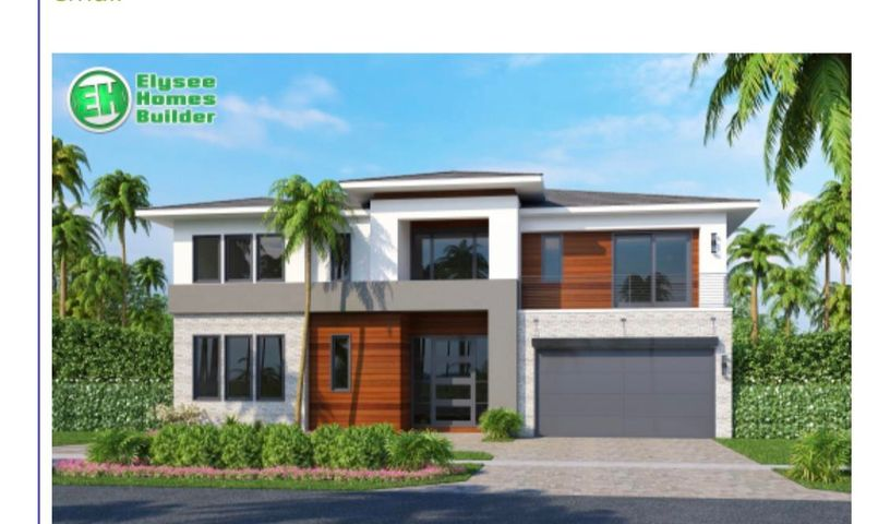 One of a kind new construction by Elyssee homes in the Mizner Park area.  Sleek designed, traditional home with a modern feel.  Enjoy a well laid out plan with 5 bedrooms, gourmet island kitchen with natural gas,  large open dining area, spacious office, upper and lower laundry, covered lanai, outdoor covered Bbq adjacent to the pool, and a true outdoor cabana bath.  This home features a sweeping master on the first floor and 4 additional en-suite bedrooms upstairs with walk in closets plus a bonus library, loft or playroom.  Perfect home for South Florida living located in one of the hottest areas of Palm Beach County!!!   This could be your forever home at just under 6000 sq. ft.