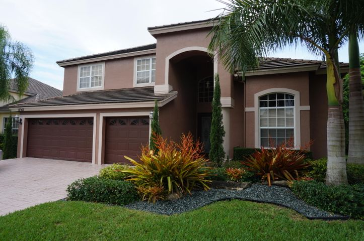 Spacious 4 bed, 3 bath, 3 car home with room for a pool in Gated Boca Falls. Ceramic tiles and laminate floors. Large Screened and partially covered patio. Great curb appeal. Highly rated Elementary and High school border the community.