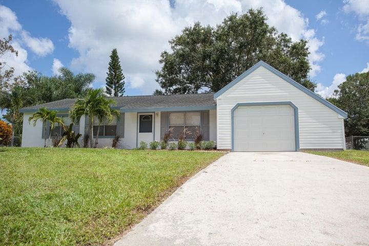 219 SW Homeland Road, Port Saint Lucie, FL 34953