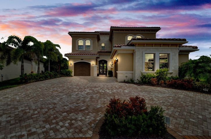 Beautiful Sanibel model built in 2018 situated on one of the largest lots in 7B with prime cul-de-sac location. Spacious 5 beds + game room + loft and 7.1 baths and a 3 car garage. Custom upgrades include a chef's kitchen with large prep cook island and beautiful white quartz counter tops, farmer's sink, subzero refrigerator and wine fridge, wolf stove/oven and microwave. Upgraded energy efficient a/c system. Wood floors flow throughout the home as well as an abundance of natural light. Every bathroom has been upgraded with natural stone and sleek, elegant hardware. Beautiful wood ceiling beams in the living and dining room. Huge master suite with sitting area and his/hers closets. Privacy and tranquility await as you step outside to the expansive backyard The Seven Bridges Clubhouse boasts a modern 30,000 SF clubhouse that features a fitness center, group fitness classes, indoor sports courts, a card room, children's center, game room and so much more. Exclusive indoor/outdoor on-site restaurant, Prime 7, resort-style pool and spa area. Har-Tru lighted tennis courts along with an on-site Pros. A full-time Lifestyle Director coordinates events, trips and social experiences throughout the year. Country club living without country club fees.  Easy to show- text Erika to schedule an appointment.