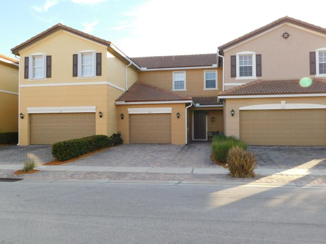 What a great complex. Shown here, this unit has a paver driveway and larger garage