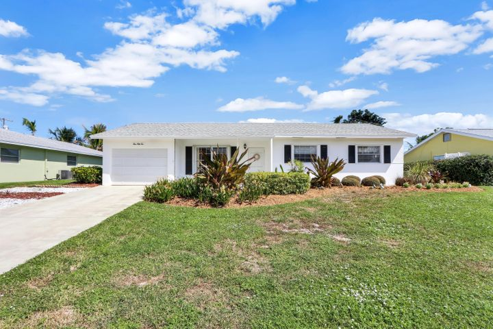 Located in the heart of Tequesta, this 3 bedroom 2 bath CBS home has been well maintained through the years. The home features tile floors throughout, baths and kitchens have been updated since the home was built. Large yard with newer irrigation system. Close to parks and Tequesta Village center as well as beaches, golf and shopping.