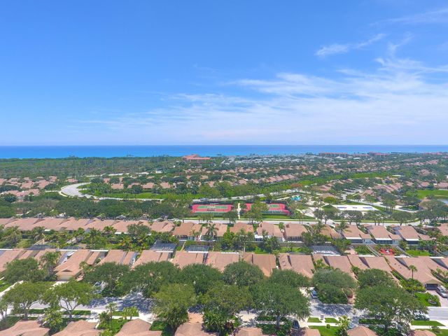 Great location only minutes from Juno Beach and Juno Beach fishing Pier, this 3 BR 2BTH home in the Ridge at the Bluffs, nicely landscaped, 2 car garage with work beach, shutters, covered/screened patio. Low HOA includes pool, tennis, basketball, cable, lawn service for front yard. Close to mall, pharmacy, restaurants, banks and shopping and highly rated schools.