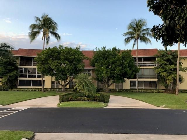 An active 55+ community in Palm Beach Gardens in PGA. This 2 bedroom 2 bathroom corner unit with canal views. Condo is on the 3rd floor and accessed by the elevator or stairs. Upgraded Kitchen with newer carpet. Glassed in balcony with water views. Bright airy condo located close to shopping, restaurants and entertainment. Easy access to I-95, Turnpike, PGA Blvd, Beaches and Gardens Mall. This community features many amenities including a pool, shuffle board and game room. Community laundry is on the 2nd floor. Parking spot is across from entrance. Storage unit included.