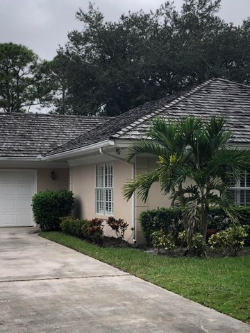 This house is a gem!  Located on the 10th fairway of the private Legacy Golf and Tennis Club golf course and less than a minutes drive by golf cart to the first tee and tennis courts makes this a pretty perfect location for golfers and tennis enthusiasts.
