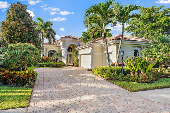 This STUNNING single-family pool home located in the esteemed BallenIsles Country Club is available THIS SEASON! If you have been searching for an impressive fully-furnished, short-term rental with 2 bedrooms plus an office, mesmerizing lake and golf course views, a private pool and a huge 2+ car garage , this is the home for you!Step inside of this gem to be swept off your feet by the light and bright feel complemented by soaring ceilings, tile flooring, fresh paint, and custom wood trim and wall panels. Continue into the home to be dazzled by the 2 sprawling family rooms and the beautiful white kitchen with a gas stove, stainless steel appliances, and abundant pantry space. Relax and unwind in your HUGE master bedroom with views of the sparkling swimming pool and spa, {click for more as well as gorgeous golf course views. The master bedroom features his and hers closets with custom built-ins, double vanities, an oversized tub, separate shower, plus a private entrance to the screened-in patio in the backyard.  -- If you are looking for the perfect private neighborhood with best-in-class amenities, you will LOVE BallenIsles. This luxury Palm Beach country club offers a gorgeous, newly-renovated Grand Clubhouse, 6 dining facilities, three championship golf courses and a HUGE Sports Complex with a spa and salon, fitness center, tennis facilities, and resort-style swimming pool. The tennis membership is optional for a $500 transfer fee.  -- 279 Isle Way is situated in the PERFECT location close to the Florida Turnpike and I-95, as well as just a short drive from pristine beaches, extensive shopping, and fine dining options. Don't miss the opportunity to live in this BallenIsles beauty!