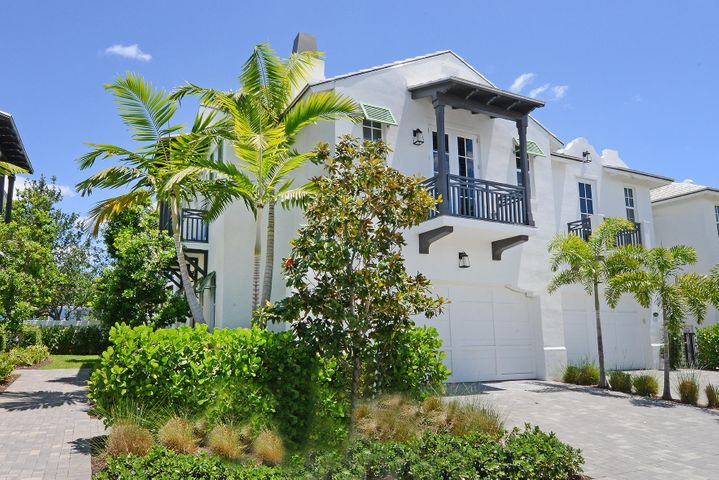 With just a short walk to the beach and a location minutes away from Atlantic avenue,this Bermuda inspired luxury townhome offers all the best of the Delray Beach lifestyle! High end finishes accentuate this meticulously maintained end unit,which has one of the largest patios (300 sq ft) in the community.Bright& spacious family & dining area,10' ceilings,and a large upstairs loft area.Luxury upgrades including designer lighting,plantation shutters throughout,hurricane proof impact windows,wood flooring,custom tongue& groove ceiling in master,built in his & hers closets,and a garage with built in cabinetry& epoxy flooring.Community Features include pool,clubhouse,and a playground.Don't miss out on living in Florida's hottest beach community!