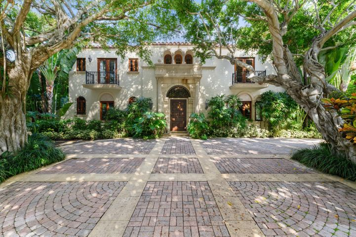 Architects and historians often refer to this property as a ''Mediterranean Masterpiece''. A true reflection of the Mediterranean Revival style prevalent in the Town of Palm Beach during the boom time era of the 1920''s. Built in 1929 for Mr. and Mrs. N.S. Babbitt who named the house ''Villa Banyan'' after 2 magnificent old Banyan trees that still prominently frame the house today. Impeccably maintained and lovingly restored. This Elegant Landmarked Estate offers the best of old and new. 5 Bedrooms, 6 1/2 bath make this a very manageable residence for todays's active lifestyles. Other features include salt water pool, cabana/full bath, guest/staff quarters,3 car garage, mahogany impact doors/windows, full house generator, and a  myriad ofcustom detailing/architectural finishes throughout