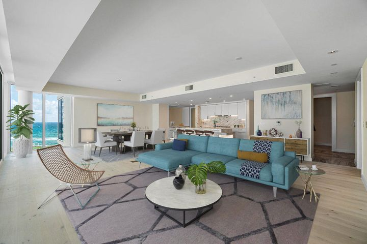 Great Room (Virtual Staging)