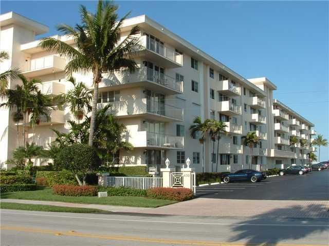 New Year, New Decade...This furnished condo is waiting for you by the Ocean! Escape the cold weather and make this your new home!  Wake up to the Sunrise, Walk to dinner and have coffee with a cop every Wednesday. 2 bed, 2 bath split plan with ocean views directly from the balcony.  This building is directly on the sand.  Features include an updated kitchen, impact glass sliding doors, impact windows, porcelain tile flooring throughout kitchen and dining areas and new carpet in family room. The master suite includes a large bathroom and large walk-in closet. Unit DOES NOT include washer and dryer; however, building allows one to be installed. This building has private access to the beach and a beautiful, heated, saltwater pool overlooking the Atlantic Ocean.