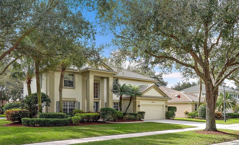 FIRST TIME ON THE MARKET FOR THIS 4/5 BEDROOM, 3 BATHROOM, POOL HOME IN EGRET LANDING! Lovingly maintained by the original owners. Pride of ownership shows in every detail with the kitchen and all bathrooms updated. One of the cleanest homes in town. The spacious, 2 story floor plan provides: a 17 ft. entrance hall, formal dining room, living room, Office/Bedroom 5, bathroom, family room and kitchen on the ground floor. Four bedrooms: master with full bathroom, walk in closets and a very useful 17' x 8' storage room, 3 additional bedrooms, guest bathroom and laundry to the second floor. 2 car garage. Established landscaping surrounds this wonderful home. The rear pool deck is enclosed with a screen and there is an undercover entertaining/dining area. A brand new 'Trane XR' AC unit serving the ground floor was installed in Dec 2019. Microwave replaced in Dec 2019. New washing machine in Jan 2020. 1 year old 'Bosch' dishwasher. New LED pool light. The refrigerator has 2 ice makers. For your convenience this home is equipped with accordion shutters on both levels.   Egret Landing community amenities include: 7 tennis courts, basketball court, soccer field, community room that can be rented for private functions, exercise room, swimming pool, tot lot and an on site management office. The current HOA is $158 a month which includes high speed internet and a preferred digital TV package with a DVR and 3 further boxes provided by Comcast. Almost certainly one of the best value for money HOA's in Jupiter! The entire community is single family homes. There is also a gated boat/RV storage facility available for a separate monthly fee (waiting list may apply).  Don't miss out on this fabulous home in a fantastic school zone within a superb and centrally located community. Close to everything Jupiter has to offer! Showings from Sunday 12th January.