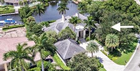 Stunning remodel, incredible waterfront lot w/86' dock. Ocean access. Extremely spacious w/a total of 6 BR, 7.5 baths, & 4 car garage w/2 golf cart spaces. Main house offers 3 BR & 3.5 baths, completely re-designed w/the finest material & craftsmanship.Floor to ceiling Impact Glass windows in nearly every room w/spectacular views. Neutral, open & extremely bright. Kitchen is outfitted w/top of the line everything; double ovens, 2 dishwashers, 6 burner stove w/griddle & wine cooler & is open to the Family Room w/gorgeous views. Luxurious Master Suite w/spa-like Master Bath.Each Guest Suite designed w/ensuite bath. Phenomenal Outdoor Living w/infinity pool & separate hot tub. 2 story guest house w/2 BR, 3 baths, full kitchen, living area & loft. Separate 2-story 3 car garage w/1 BR & 1 bath.