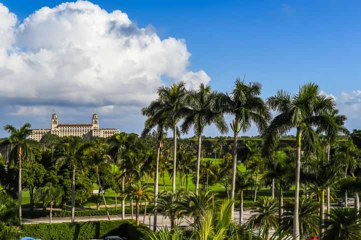 Ready to move into this beautiful sunny southeast views of the Breaker's golf course.  Completely renovated one bedroom plus den, two bathroom apartment in the Palm Beach Towers, a full service building.
