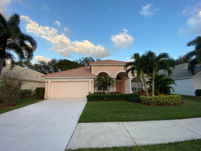 When you walk into this one-story home you are greeted with an expansive dining and living area with an open, volume ceilings.  An open floor plan provides plenty of entertaining space that can spill onto the rear patio.  The spacious yard has matures trees and is completely fenced in and private.  Bent Tree is a highly desirable gated neighborhood and is close to everything Palm Beach Gardens has to offer.  It is walking distance to Timber Trace Elementary school, Duncan Middle School,  and the Gardens North District Park- with a splash pad, kids play ground, soccer fields and more.  Close to PGA Blvd, restaurants, shopping, I-95 and Florida Turnpike.