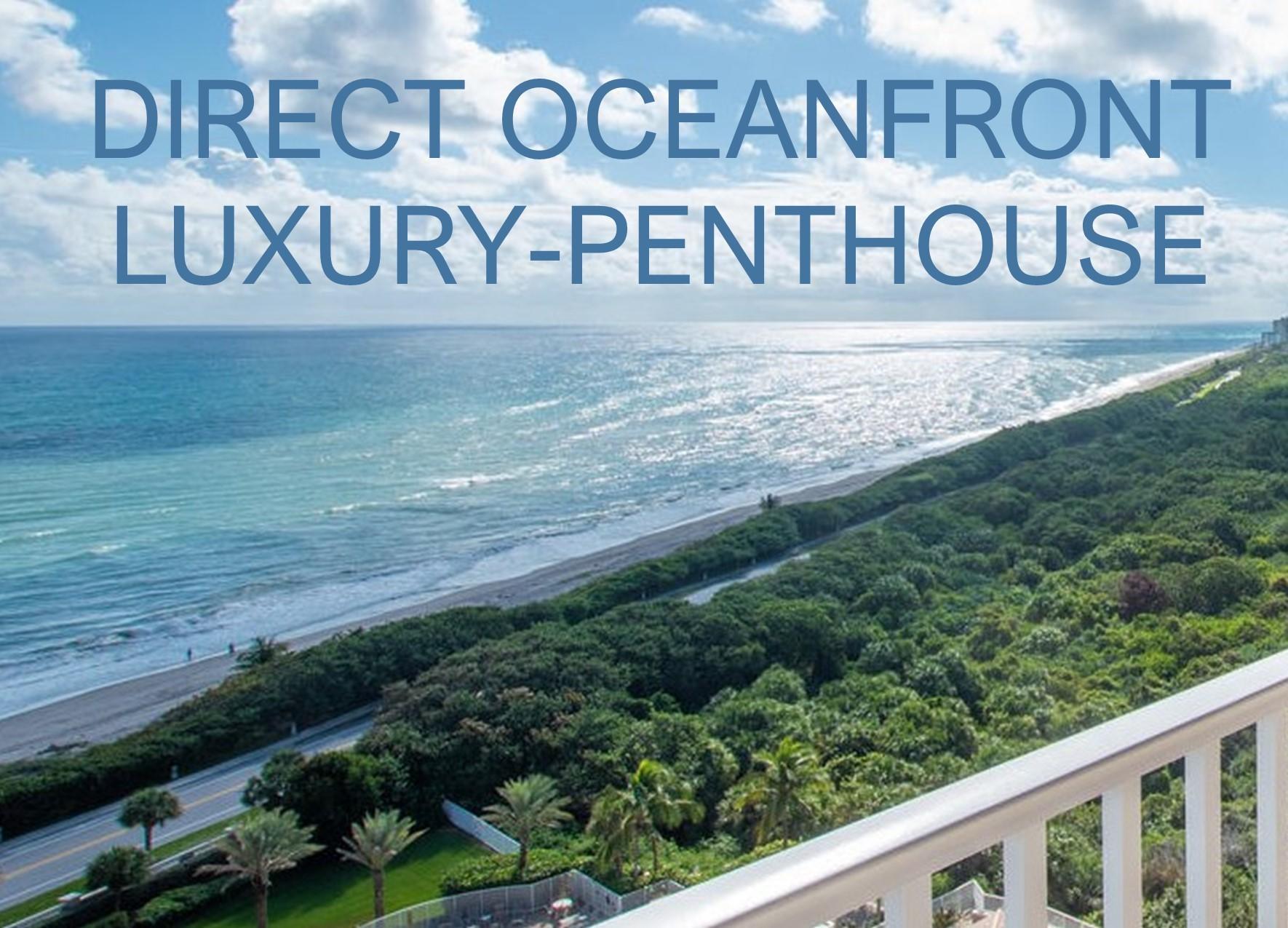 700 Ocean Royal Way PH1, Juno Beach, FL