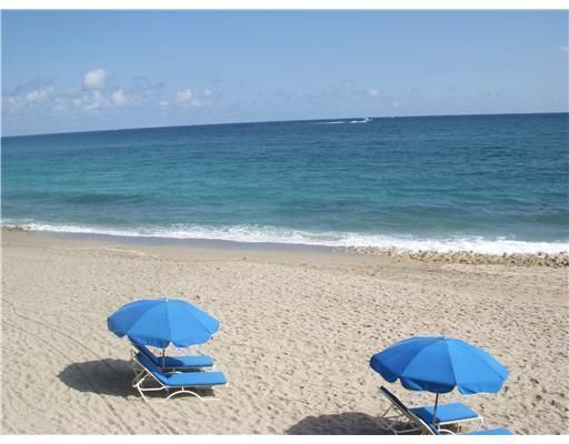 Moments to a private walkway to the beach and Atlantic Ocean. The concierge places the chaurs and umbrellas out for you
