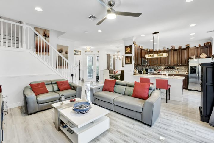 Living Room/Kitchen/formal dining