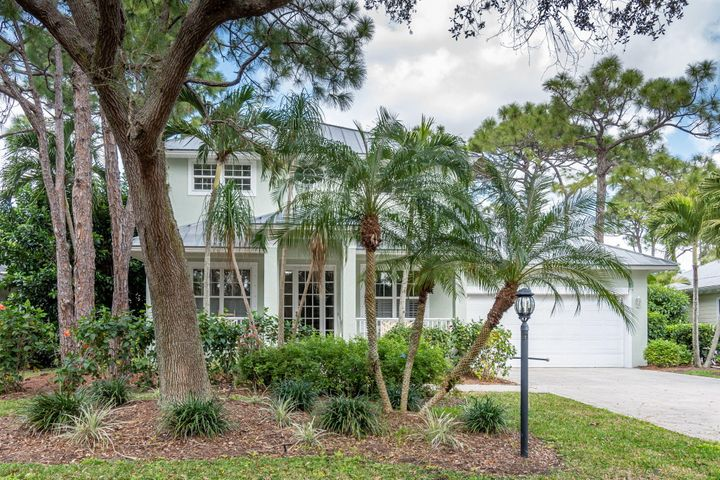 This 2 story 3BR+study/2.5 BA with loft and heated pool is located on the 10th fairway in Vero's only Audubon Signature Sanctuary golf course! Master suite is on the first floor. CBS construction with metal roof. Pet friendly community. Golf membership is available.