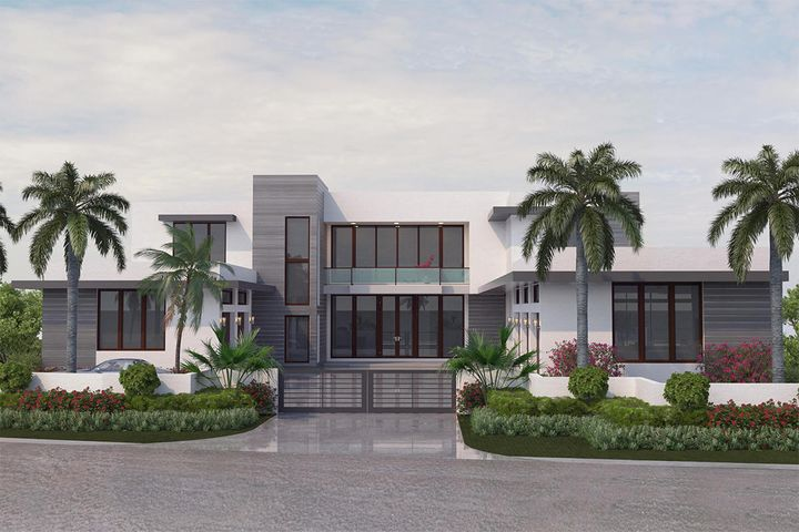 341 Alexander Palm Road is located on an oversized waterfront lot in Royal Palm Yacht & Country Club, Boca Raton's premier waterfront community. Brand new home built by Hanna Homes to be completed in 2020, features 6 bedrooms, 7 full and 2 half bathrooms, and is 10,090 sf under air. This boater's paradise sits on 88' of waterfront with direct Intracoastal and Ocean access. Buyer to pay documentary stamp taxes on the deed and title insurance.