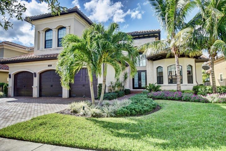 Fabulous, contemporary home filled with light. This popular Bassano model features 5 bedrooms, 7 &1/2 baths, formal living & dining rooms, family room, media room & an over-sized loft. The gourmet chef's kitchen has been updated with quartz counter tops, subway tile back-splash, shaker cabinetry & top of the line appliances. The spacious master suite is appointed with his & hers baths, his & hers fitted closets, sitting area & private balcony, The peaceful & private, large back yard  is lushly landscaped & features custom landscape lighting,  heated pool, large pool deck & covered patio. This home is Move in Ready! Zoned for ''A'' Rated Schools. The elegant clubhouse at the Bridges features a full service, pool side restaurant, resort style pool & spa, his & hers locker rooms, saunas, fitness center, yoga studio, indoor & outdoor basketball courts, children's indoor & outdoor play spaces & an active tennis facility with 6 Har-Tru courts, 1 hard court, shaded court-side pavilion, onsite tennis pro & pro shop.