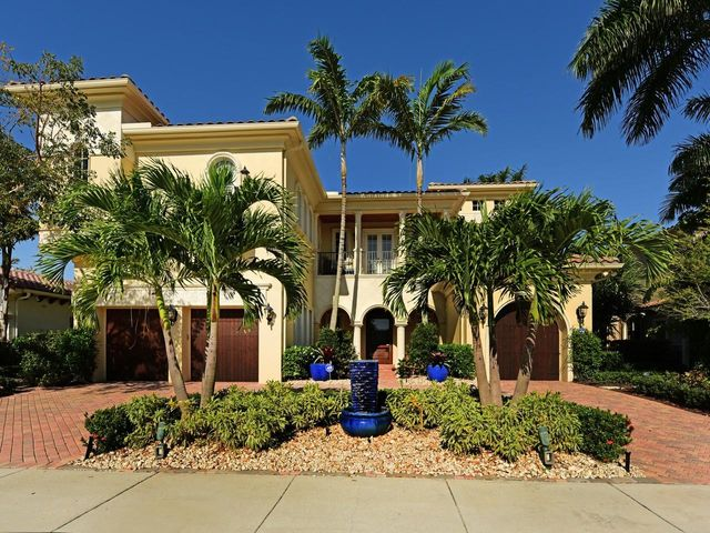 Gorgeous home overlooking the 3rd fairway in Old Palm. Beautifully updated gourmet kitchen. Enjoy the outdoor living area perfect for entertaining guests. The elevator leads you upstairs to the Master Bedroom overlooking the golf course. Home is being offered fully furnished. Located just minutes away from all major shopping and excellent dining.