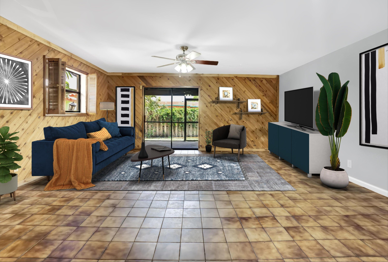 20.5 x 17.6\\' living room