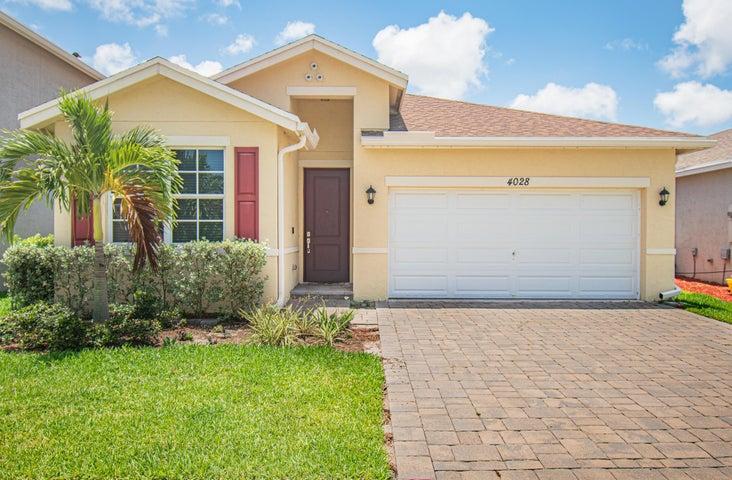 4028 Tomoka Drive, Lake Worth, FL 33462