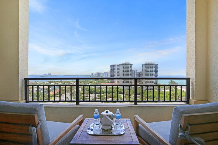 ENJOY GORGEOUS OCEAN, INTRACOASTAL AND PARK VIEWS FROM THIS 15TH FLOOR FULLY FURNISHED 1 BEDROOM, 1 BATH CONDO. TOP-OF-THE-LINE APPLIANCES, MARBLE FLOORING, CARPETING & GRANITE COUNTER-TOPS SURROUNDED BY WORLD CLASS AMENITIES. Wonderful family-friendly vacation retreat, relaxing and rejuvenating getaway or investment property on beautiful and unique Singer Island. Join the Marriott's rental program to generate income, rent on your own or move right in and live this luxury lifestyle yourself. 3D Walkthrough available (see virtual tour section of listing).Featuring 239 all-suite resort units and 66 residential condominiums, the resort includes 4,000 square feet of meeting space, an 8,500-square foot spa, and all of the amenities and services one would expect from a world-class facility. Butler Service, valet attendants, and a full-time concierge will enrich guest experiences and activities, including coordination of private events, theater tickets, dinner reservations, and travel arrangements. Experience the essence of elegance in one or two bedroom resort units ranging from 800 square feet to just over 2,100 square feet of living space. Decorated with dark wood tones, stainless steel kitchen appliances, and marble baths, the resort offers a luxurious contemporary modern edge. Enjoy majestic views of the Atlantic Ocean or Intracoastal Waterways from the expansive terraces in each suite. Dining options include an alfresco ambiance at the ocean side eatery, the convenience of room service, or special events catered within the stunning entertainment veranda. Even a temperature-controlled wine room is available to store private wine collections. The white sands of Singer Island provide the ultimate place to relax. Attentive pool and beach side attendants provide everything from plush beach towels and relaxing lounge chairs to tempting frozen libations. Outdoor private cabanas are the ideal place to enjoy a casual poolside lunch.
