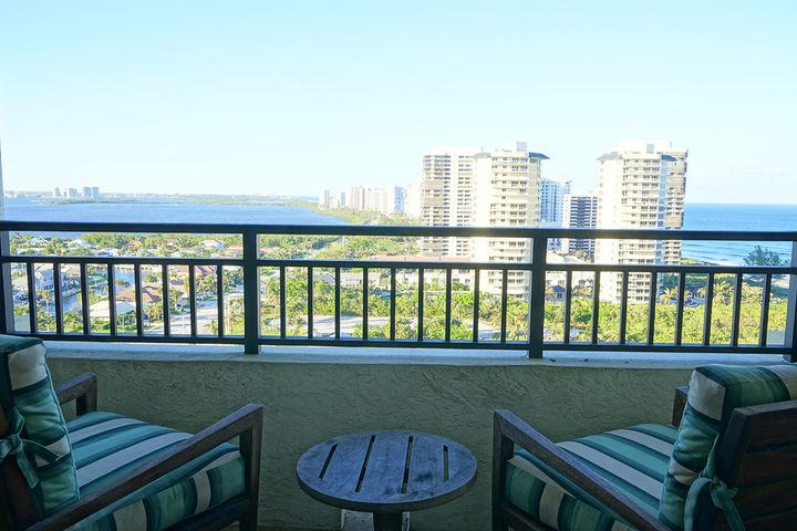 ENJOY BREATHTAKING PANORAMIC OCEAN VIEWS FROM THIS 17TH FLOOR FULLY FURNISHED 1 BEDROOM 1 BATH CONDO.  FULL KITCHEN WITH APPLIANCES, MARBLE FLOORING, CARPETING, GRANITE COUNTERTOPS, & WORLD CLASS AMENITIES.  Beach front building is gamily friendly and is the perfect spot to vacation.  Use it as an investment property when not visiting.  Choose which management team to operate the property for nightly (transient) rentals and generate income.