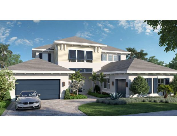 945 Palm Trail Rendering