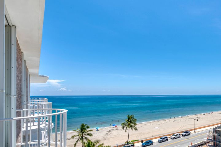 On the Ocean and World Famous Worth Avenue enjoy a most desirable Condo community and a rarely available Penthouse that offers a spacious, bright fully renovated interior with quality appointments throughout and, dramatic views of the ocean, estate section and city lights from the south/west wrap around balcony. The kitchen has top quality appliances, a  washer and dryer is in the apartment, and there are two garage parking spaces. This apartment offers the best in condo living.Full service condominium community affords a heated pool surrounded by  lush tropical foliage, a sundeck, a tunnel to the beach, inviting social room and exercise facility, contemporary lobby - all recently redesigned for today's desired design. Small pet allowed with board approval