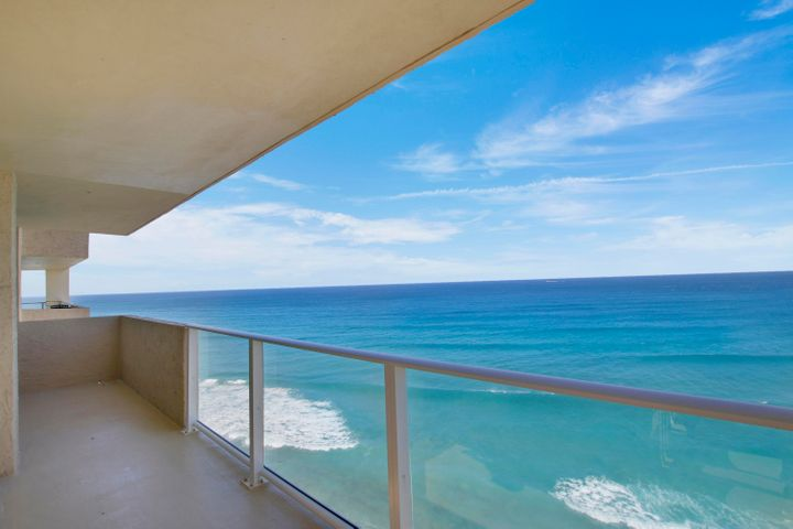 Gorgeous South Facing Oceanfront Condo with views of the ocean and Intracoastal! Condo features a contemporary open layout with impact glass sliding doors and windows. Interior features include all high end finishings, custom cabinetry, built-ins, tile flooring, pantry, custom blinds and bar. Master bedroom showcases a huge walk-in closet. Washer/Dryer Hook-up & covered parking! The unit also comes with extra storage on the floor and bike storage. The Aquarius has a new exercise room, sauna, billiard room, community room with kitchen, library, BBQ area with built-in gas grills and large picnic seating area overlooking the ocean. Enjoy relaxing on the beautiful pool deck which overlooks the ocean or lounge on the beach only a few steps away. Singer Island located is close to shops.... restaurants and the airport. Pet Friendly Building, dogs allowed up to 15lbs. Rentals permitted in 1st yr of ownership. Don't miss out on this fabulous unit located on Singer Island! Covered Parking Space #60