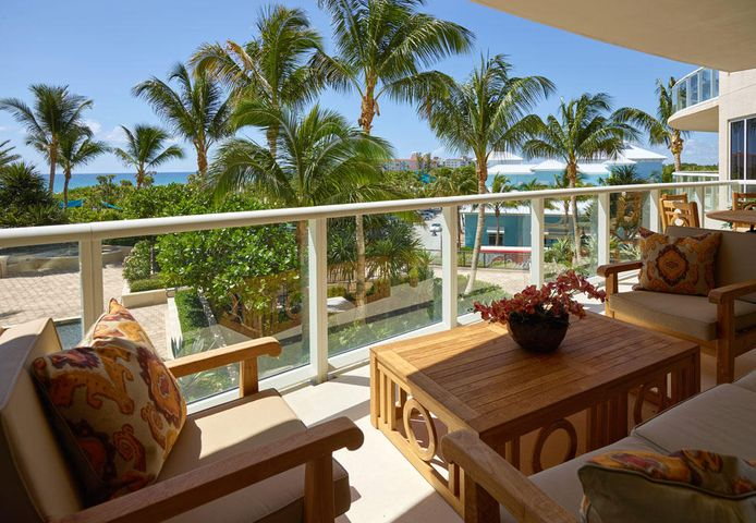 Ritz 204B. Imagine natural beauty surrounded by cultural riches....this is the lifestyle of the Ritz Carlton Residences, Singer Island. This low floor condominium gives a ''Zen'' like feel with a sublime tropical orientation. With palm trees as a backdrop, no detail has been overlooked from dropped ceilings, extensive cove lighting, shades that rise at the touch of a button, waterfall counter top and top of the line electronics and appliances. The interior was designed by SEED NYC an award-winning Interior Designer. You will want to own this condominium! Majestically situated on 8.8 acres along the crystal blue waters of the Palm Beach coastline, The Residences are a private oasis. Rising 27 stories and offering panoramic ocean views. Imagine a home not only defined by sophisticated style and sumptuous furnishings but equipped with impeccable service delivered by the Ritz Carlton. From valet services to on site dining and dedicated concierge, you'll enjoy five-star living. Nestled between the celebrated Worth Avenue, PGA Golf, and Wellington's polo community.