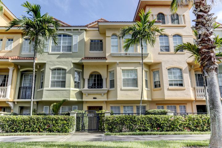 Enjoy this elegantly fully furnished and turn key seasonal rental in highly sought after luxury gated community of Harbour Oaks.Walking distance to the Gardens Mall and Downtown at the Gardens.Can be rented annually as well.Enjoy this spacious 2600sqft 3 story townhouse with a 2 car garage, 2 large  suites and den/office.Highly upgraded light and bright unit beautifully furnished with tiling throughout,large open gourmet kitchen with brand new stainless steel appliances and granite counters.Harbour Oaks offer upscale resort styled amenities including a lake front heated swimming pool,spa and fully remodeled state of the art fitness center.Location Location!Conveniently located within minutes from area beaches, golf courses, shopping and nightlife. Easy access to highways and P.B.I Airport!