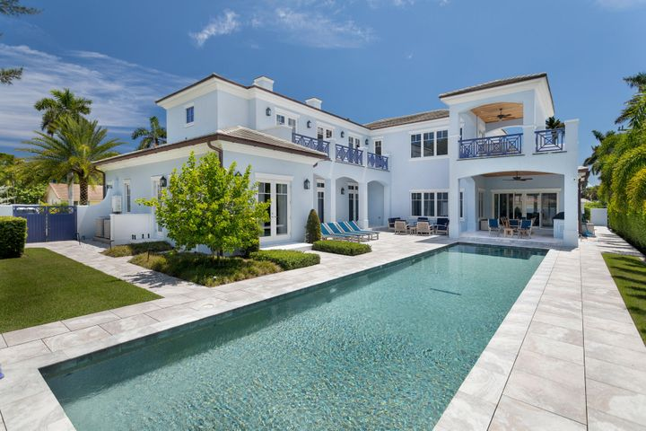 An idyllic lifestyle awaits at this luxe British West Indies estate, built in 2018 in Delray Beach's Seagate area, just one block from the ocean. Sure to please and delight, details include marble and wood flooring, 12-foot ceilings, and handsome custom moldings. Outdoors, the large covered loggia overlooks the 50-foot lap pool set within an expansive sundeck, inviting hours of relaxation.The information herein is deemed reliable and subject to errors, omissions or changes without notice.  The information has been derived from architectural plans or county records. Buyer should verify all measurements. DISCLAIMER: Information published or otherwise provided by Premier Estate Properties, Inc. and its representatives including but not limited to prices, measurements, square footages, lot sizes, calculations and statistics are deemed reliable but are not guaranteed and are subject to errors, omissions or changes without notice. All such information should be independently verified by any prospective purchaser or seller. Parties should perform their own due diligence to verify such information prior to a sale or listing. Premier Estate Properties, Inc. expressly disclaims any warranty or representation regarding such information. Prices published are either list price, sold price, and/or last asking price. Premier Estate Properties, Inc. participates in the Multiple Listing Service and IDX. The properties published as listed and sold are not necessarily exclusive to Premier Estate Properties, Inc. and may be listed or have sold with other members of the Multiple Listing Service. Transactions where Premier Estate Properties, Inc. represented both buyers and sellers are calculated as two sales. Premier Estate Properties, Inc.'s marketplace is all of the following: Vero Beach, Town of Orchid, Indian River Shores, Town of Palm Beach, West Palm Beach, Manalapan Beach, Point Manalapan, Hypoluxo Island, Ocean Ridge, Gulf Stream, Delray Beach, Highland Beach, Boca Raton, East D