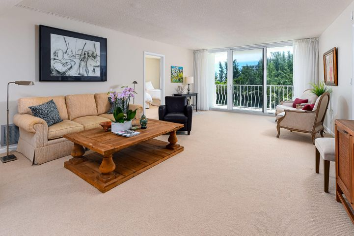 Turnkey-everything except artwork & personal property are included.Quote from the Seller:''I've enjoyed my condo for so many reasons. Aside from the beauty of the view, and the wonderful southeastern breezes, the condo has been so convenient. I enjoy being able to walk to the nearby good restaurants:I normally head to Al Fresco at the Par #3, or one of several restaurants at the nearby Ocean Front Lake Worth Casino. I also use the Four Seasons Resort for their outdoor bar and outdoor lunch, and go into their shop to buy a paper or a paperback book.  Love taking guests to an outdoor lunch at Four Seasons- sitting at the round teakwood tables, under the banyan trees and enjoying the breeze and view is as good as life gets.''Recently new A/C system, hurricane impact glass, hot water hea