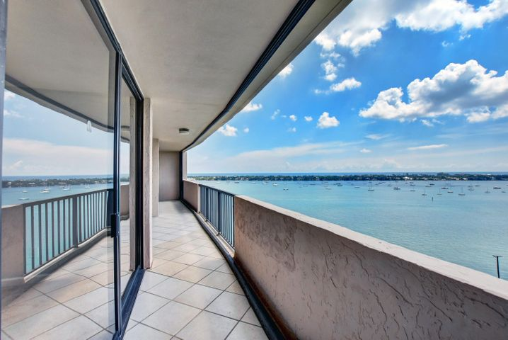 HUGE BALCONY SPANS LENGTH OF CONDO ALL ROOMS OPEN TO THIS VIEW! FACING NORTHEAST (IN THIS PIC)